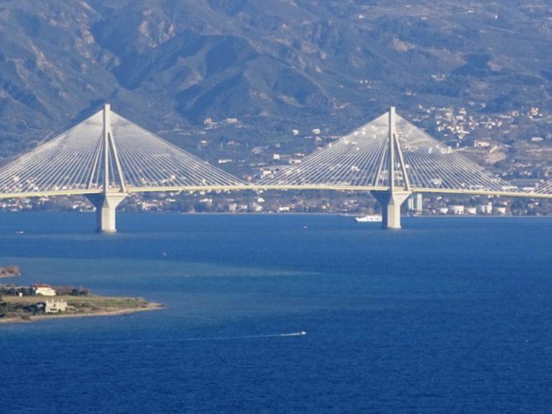 Αποτέλεσμα εικόνας για 13 χρόνια λειτουργίας Γέφυρας Ρίου – Αντιρρίου «Χαρίλαος Τρικούπης» με ανοδική πορεία